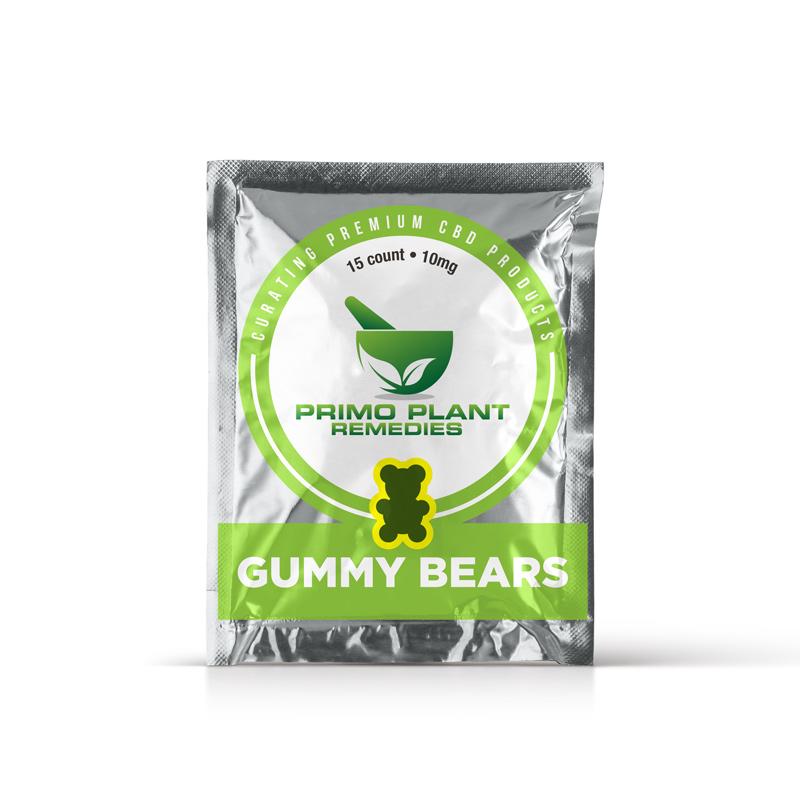 Primo Plant Remedies - CBD Gummy Bears - 15 count - 10mg